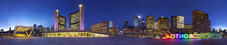 Toronto City Hall Panorama