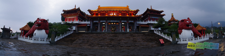 Wenwu Temple Panorama