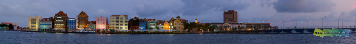Willemstad Waterfront Panorama
