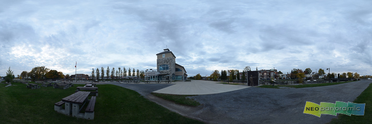 Lachine Canal Park Panorama