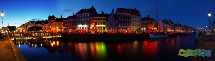 Nyhavn Canal Panorama